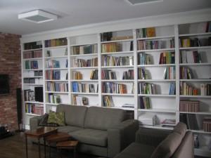 Biblioteka biała klasyczna na wymiar