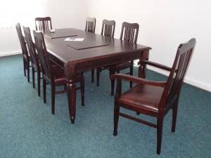 stół dębowy rozkładany na wymiar 4      -krzesła na zamówienie