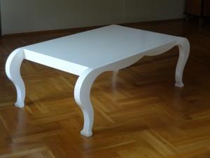 Stół ława na wymiar Ława w stylu Ludwik Filip meble na wymiar lakierowane