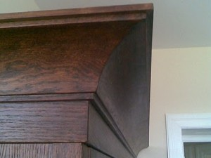 Gzyms szafy kuchennej
