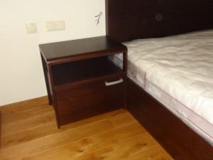 Szafka nocna łóżko dębowe na wymiar