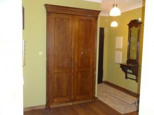 Zabudowa garderoby drzwi stylowe dębowe na wymiar