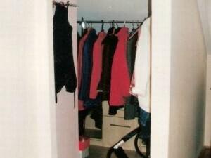 Zabudowa garderoby drzwi stylowe na wymiar