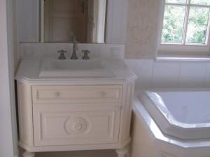 Szafka umywalkowa z rozetą na wymiar
