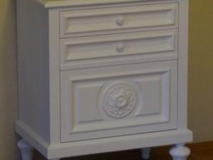 Szafka  łazienkowa biała na wymiar