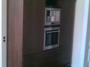 Szafa kuchenna z zabudowaną lodówką na wymiar