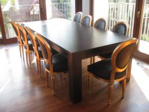 stół dębowy rozkładany na wymiar 2