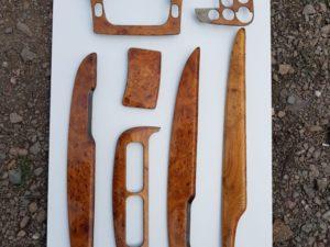 Aston Martin elemeny drewniane renowacja